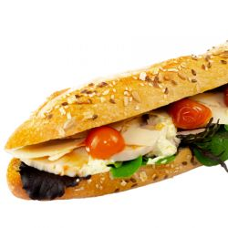Sandwich poulet italien
